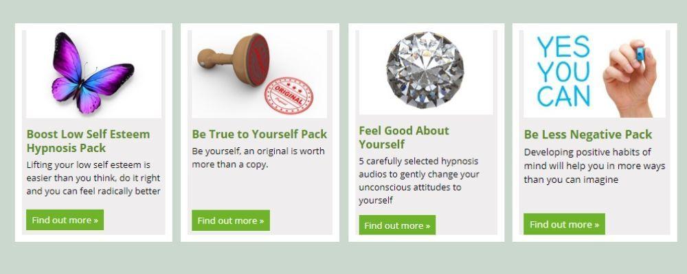 money-saving hypnosis packs