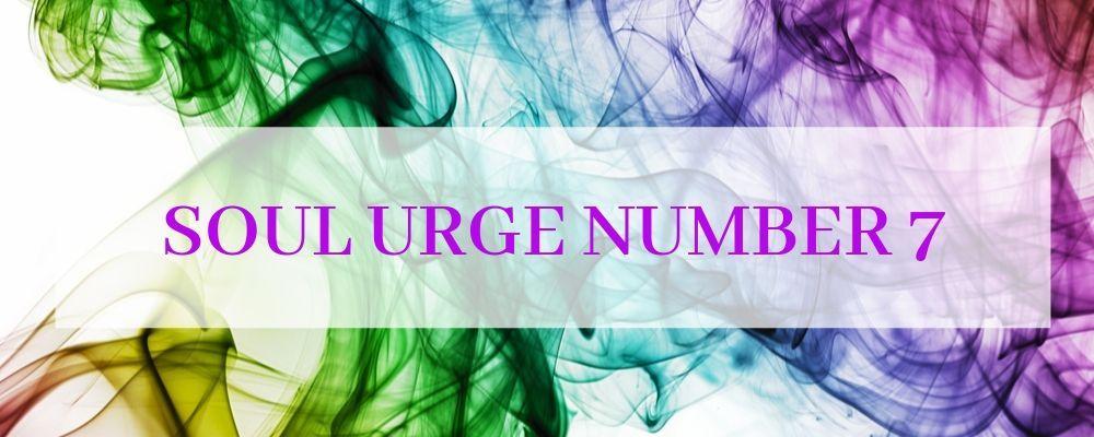 soul urge number 7