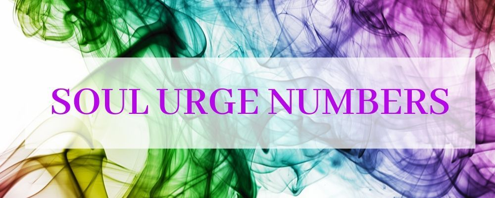 soul urge numbers