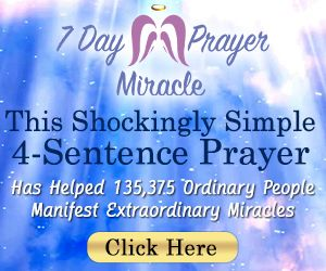 7 day prayer miracle for Angel numbers 1221