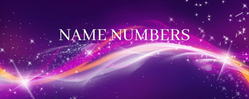 name numbers