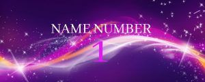 name number 1