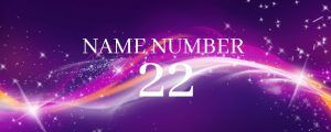 name number 22