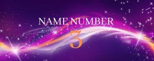 name number 3