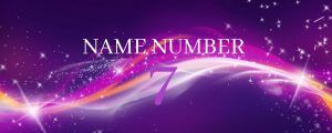 name number 7
