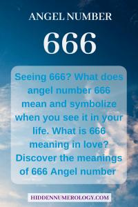 seeing 666?