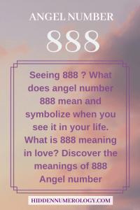 Seeing 888?