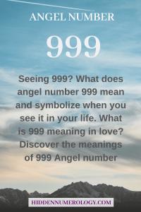 seeing 999?