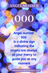 ANGEL NUMBER 000