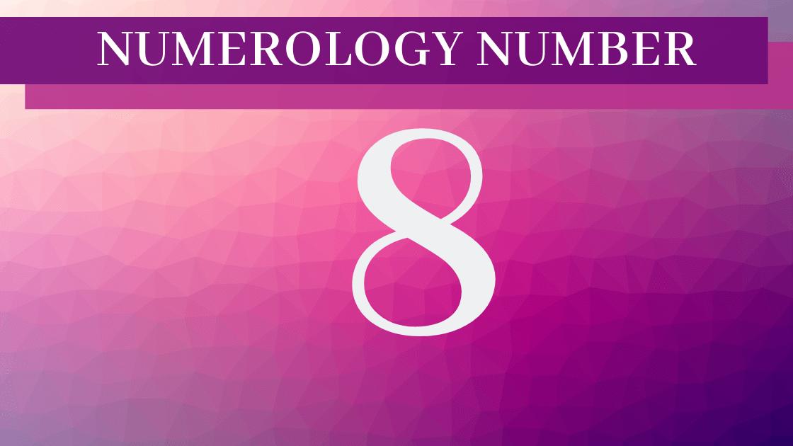numerology 8