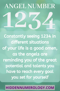 meaning of 1234