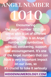 1010 meaning - Seeing 1010