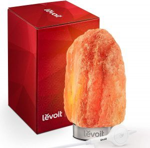 Pink Crystal Salt Rock Lamp