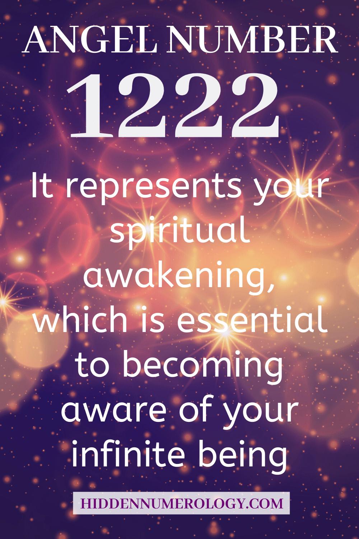 1222 Angel number