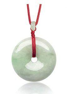Dahlia Circle Coin Jade