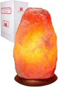 Hand Crafted Natural Large 9-Inch Crystal Himalayan Salt Lamp