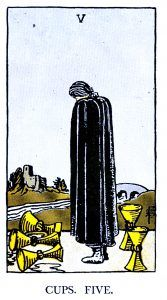 5 Cups Tarot Card