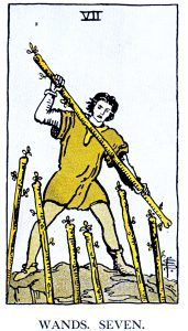 6-Wands Minor Arcana Tarot Card Meanings