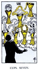7 Cups Tarot Card