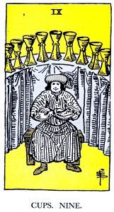 9 Cups Tarot Card