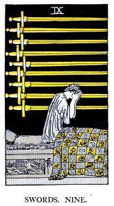 9 Swords Tarot Card