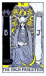 The High Priestess Tarot - Major Arcana Tarot Card