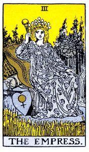 The Empress Tarot - Major Arcana Tarot Card
