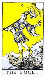 The Fool Tarot - Major Arcana Tarot Card