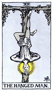 The Hanged Man Tarot - Major Arcana Tarot Card