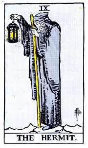 The Hermit Tarot - Major Arcana Tarot Card