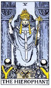 The Hierophant Tarot - Major Arcana Tarot Card