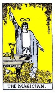 The Magician Tarot - Major Arcana Tarot Card
