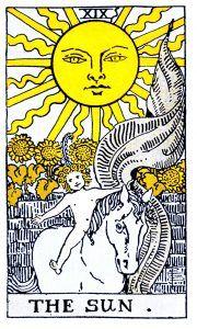 The Sun Tarot - Major Arcana Tarot Card