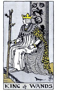 king Wands Minor Arcana Tarot Card Meanings