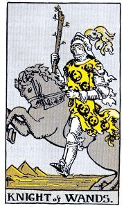knight Wands Minor Arcana Tarot Card Meanings