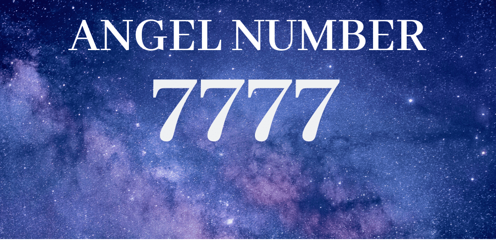 Angel number 7777