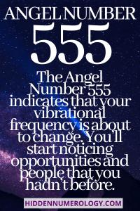 ANGEL NUMMER 555