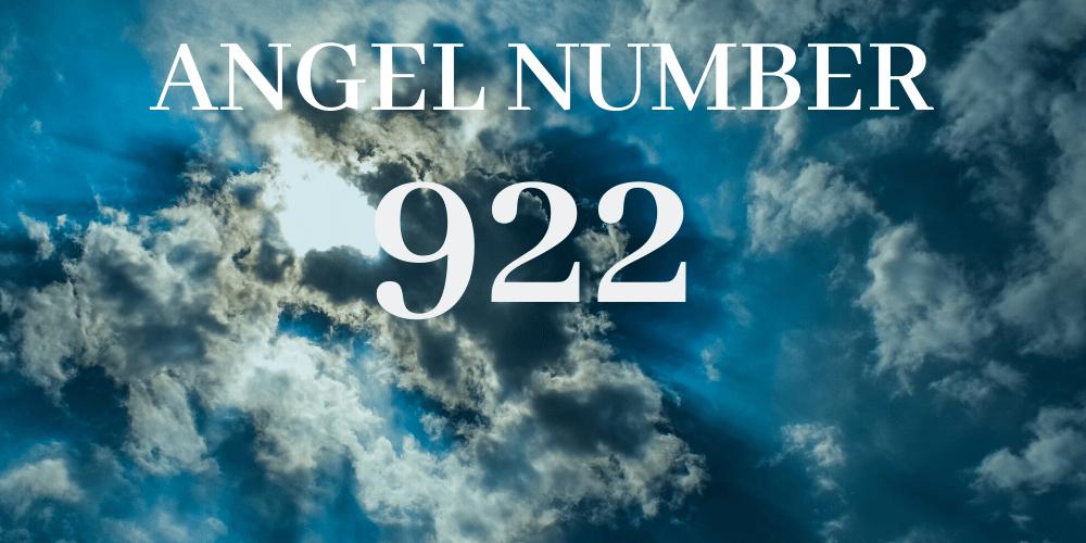 Angel number 922