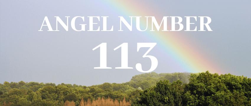 ANGEL NUMBER113